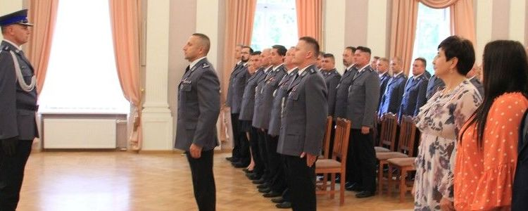 Powiatowe Święto Policji w Puławach