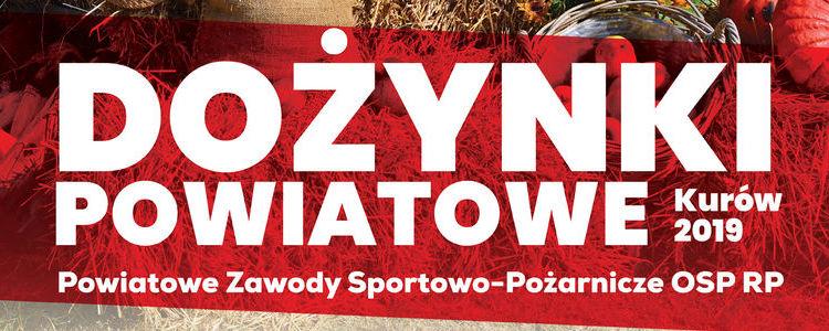 """Program i regulamin imprezy masowej """"Dożynki Powiatowe Kurów 2019"""""""