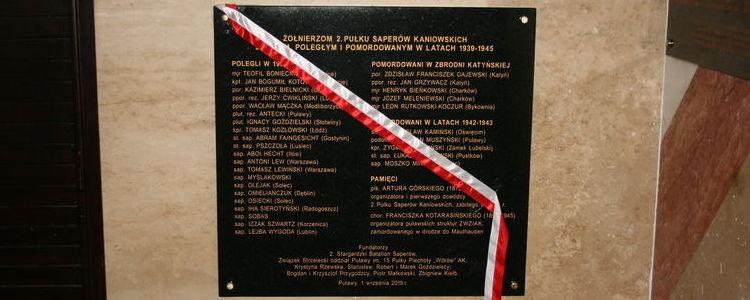 Ziemia Puławska pamięta o swoich bohaterach