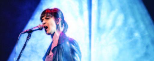 Aneta Todorczuk w trakcie występu