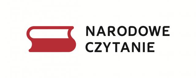 Narodowe Czytanie 2019 biało-czerwona flaga