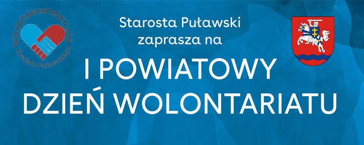Wolontariusz roku 2019 Powiatu Puławskiego.