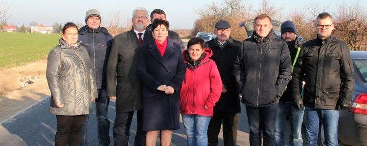 Przebudowa drogi powiatowej nr 2521L - ul. Wspólnej w Klikawie i Górze Puławskiej zakończona