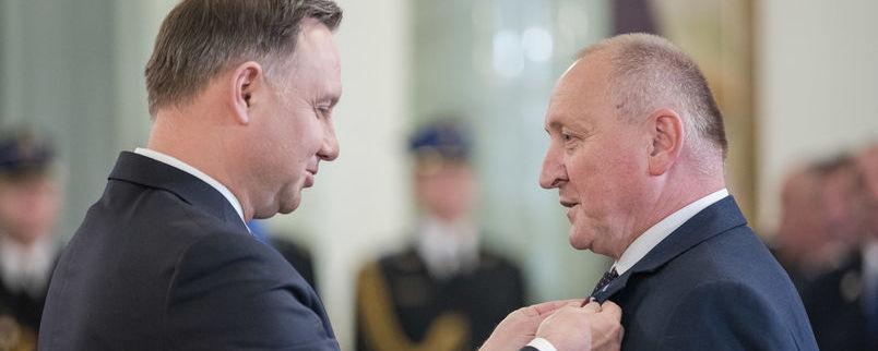 Prezydent RP, dyrektor Szabelski