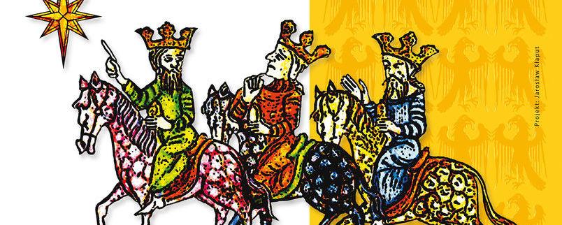 Trzej Królowie na koniach, gwiazda