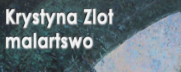 Wernisaż malarstwa Krystyny Zlot w powiatowym MDK-u