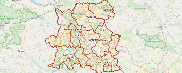 Powiat puławski przoduje w wykorzystaniu cyfrowych usług geodezyjnych