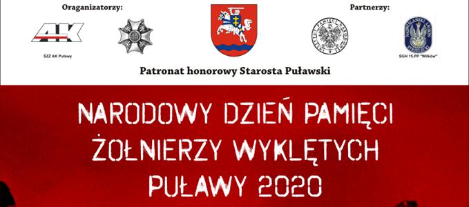 Obchody Narodowego Dnia Pamięci Żołnierzy Wyklętych w Puławach