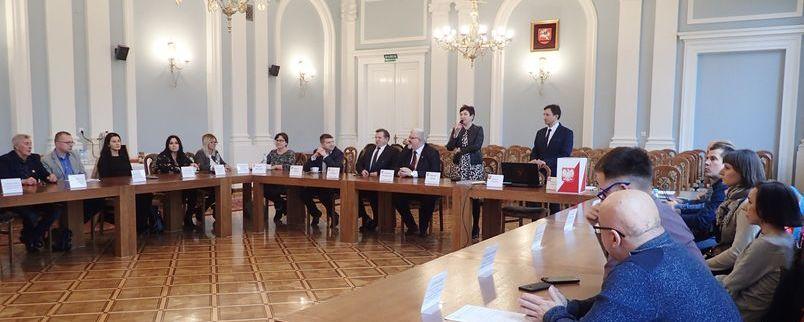 Zebranie przedstawicieli organizacji pozarządowych w sprawie wyborów do Powiatowej Rady Działalności Pożytku Publicznego