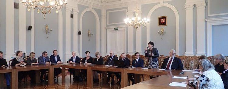 Spotkanie organizacyjne dotyczące I Nadwiślańskich Spotkań z Folklorem Ziemi Puławskiej i Dożynek Powiatowych Baranów 2020
