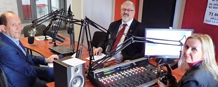 O kondycji powiatowej służby zdrowia na antenie Radia Impuls