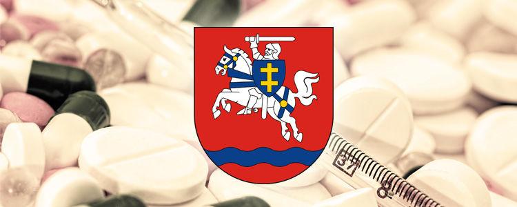 Herb powiatu puławskiego.
