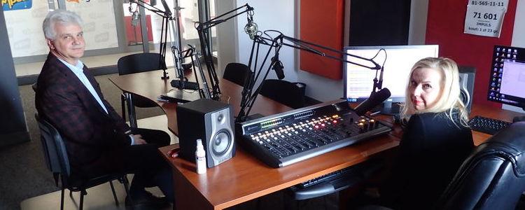 O zdalnej edukacji na antenie Radia Impuls