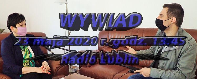 Starosta Danuta Smaga o nagrodach dla sportowców i inwestycjach powiatowych w audycji w Radio Lublin