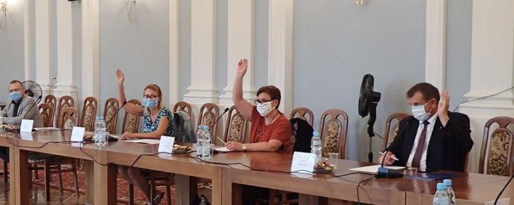 I posiedzenie Rady Działalności Pożytku Publicznego w Puławach - głosowanie
