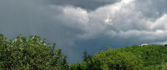Grafika pogodowa - Burza