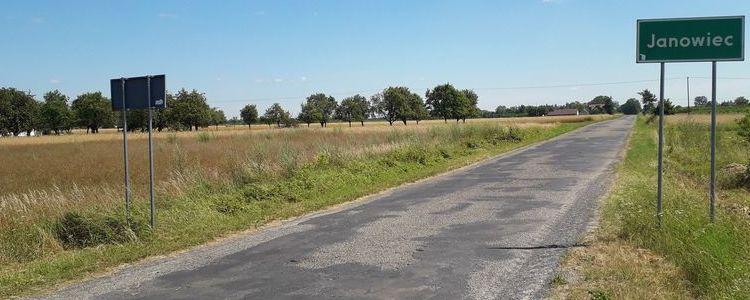 Plac budowy przekazany - rozpoczynamy remont drogi powiatowej z Janowca do Ławeczka Starego