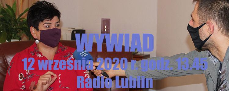 Wywiad, 12 września 2020 r. Radio Lublin