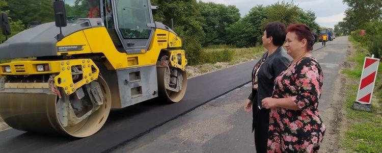 Ruszyła przebudowa drogi powiatowej z Janowca do Ławeczka Starego
