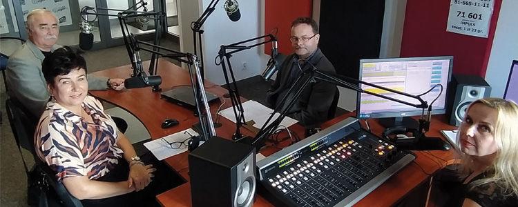"""O premierze filmu """"Mroki Czarnego Lasu"""" na antenie Radia Impuls"""