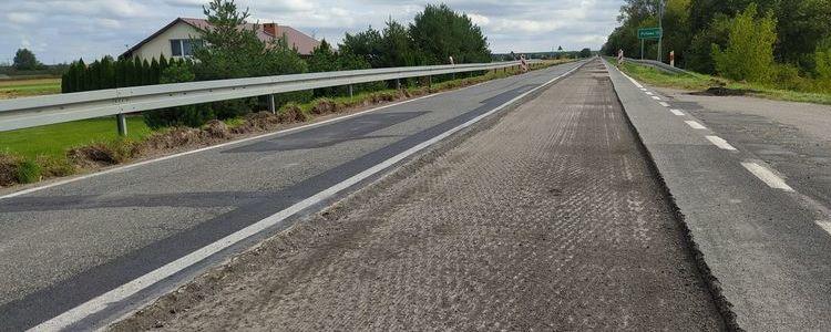 Trwa kolejny etap przebudowy drogi wojewódzkiej nr 801