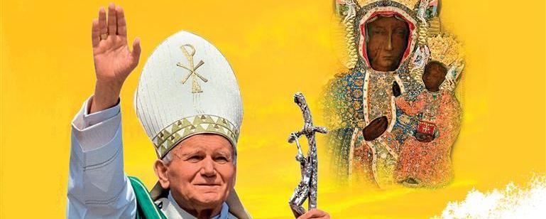 Papież Jan Paweł II i Matka Boska Częstochowska
