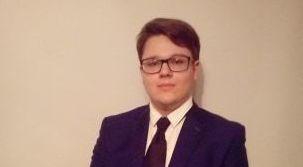Jakub Grudzień, zdobywca I miejsca w etapie okręgowym XLVII Olimpiady Historycznej