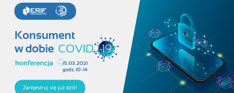 Bezpłatna konferencja on-line Konsument w dobie COVID-19