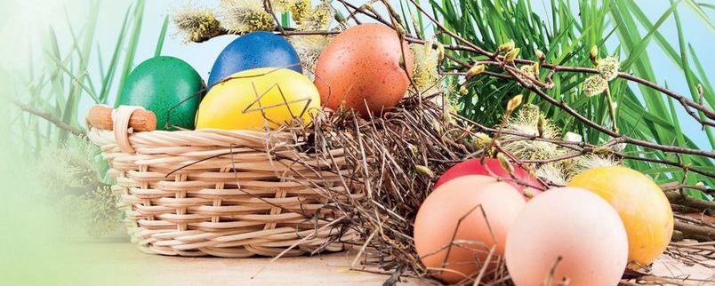 Grafika z motywem Świąt Wielkanocnych