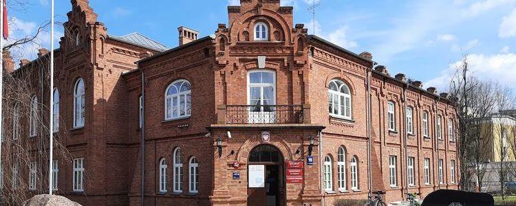 Budynek Starostwa Powiatowego w Puławach
