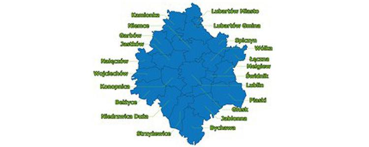 Infografika przedstawiająca obszar LOM
