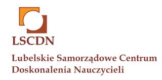 Logo Lubelskiego Samorządowego Centrum Doskonalenia Nauczycieli