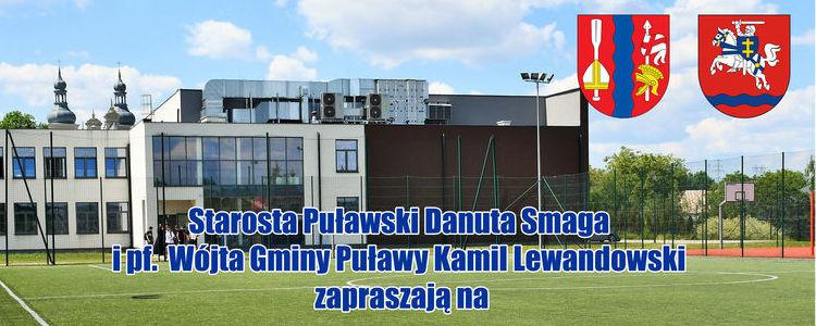Starosta Puławski Danuta Smaga i pf. Wójta Gminy Puławy Kamil Lewandowski zapraszają na XI Turniej Piłki Nożnej Samorządowców Powiatu Puławskiego