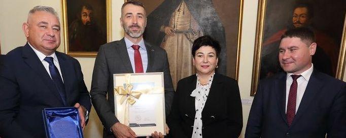 Starosta puławski z zarządem grupy Azoty
