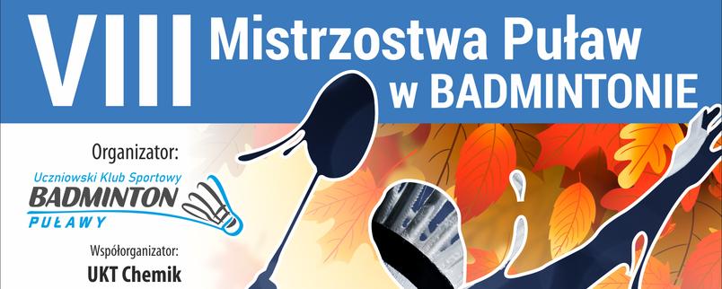 VIII Mistrzostwa Puław w Badmintonie, sportowiec z rakietą