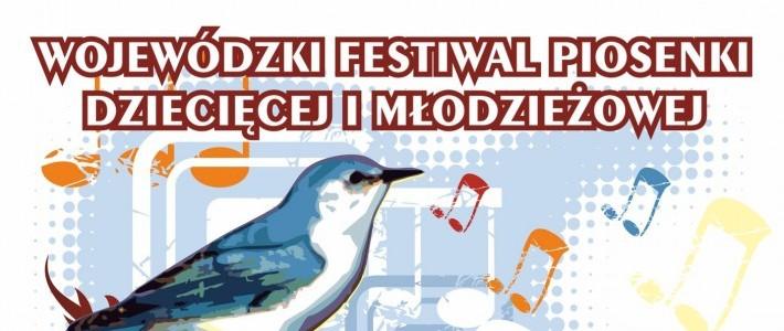 """Zapraszamy na Wojewódzki Festiwal Piosenki Dziecięcej i Młodzieżowej """"Śpiewający Słowik"""""""