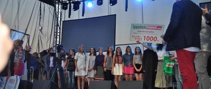 """Reprezentacja LGD """"Lepsza Przyszłość Ziemi Ryckiej"""" w finale III Festiwalu Piosenki Ranczerskiej """"Wilkowyjce"""""""
