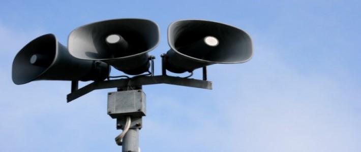 Uwaga: treningowe uruchomienie systemu alarmowego