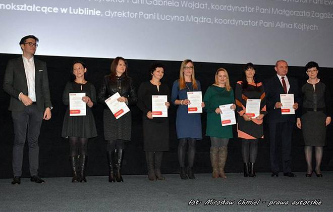 Certyfikaty dla uczestników Lubelskiej Komórkomanii