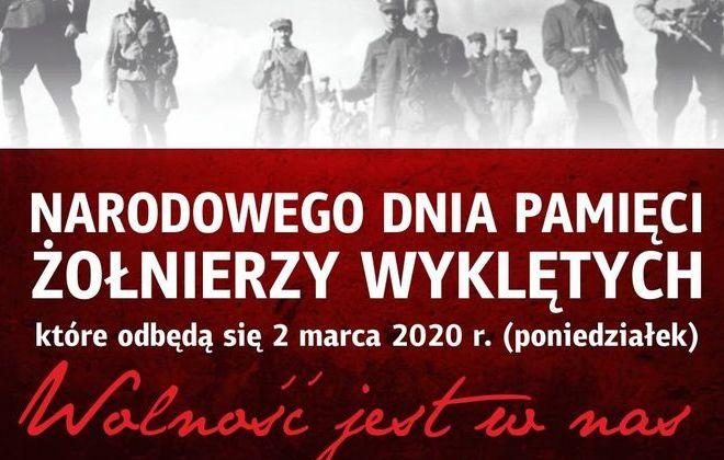 Za proszenie na Powiatowe Obchody Narodowego Dnia Pamięci Żołnierzy Wykletych