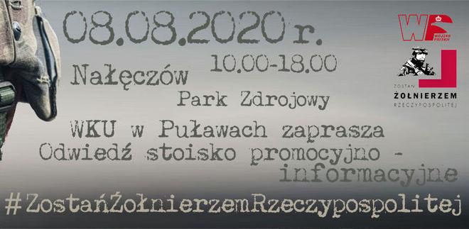 WKU w Puławach zaprasza - Odwiedź stoisko promocyjno-informacyjne
