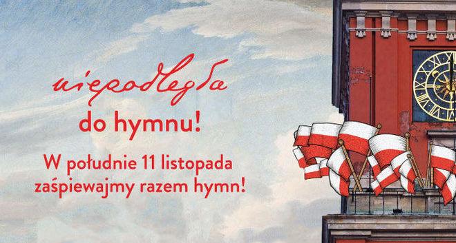 """""""Niepodległa do hymnu"""" – spot zapraszający mieszkańców do świętowania 11 listopada"""