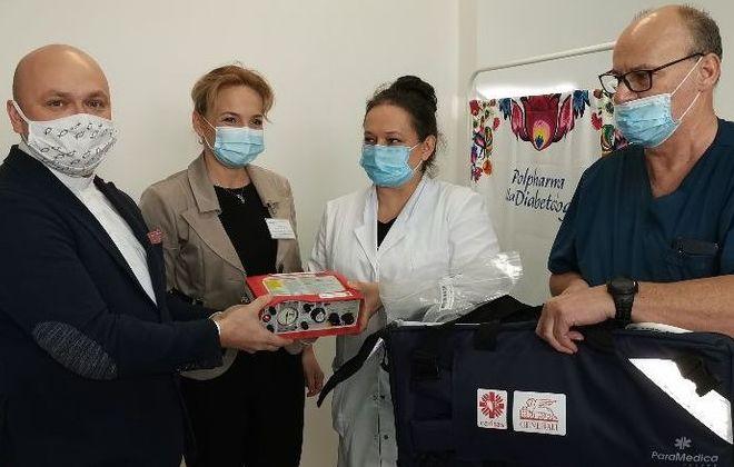 Caritas przekazał respirator dla Szpitala Powiatowego w Rykach