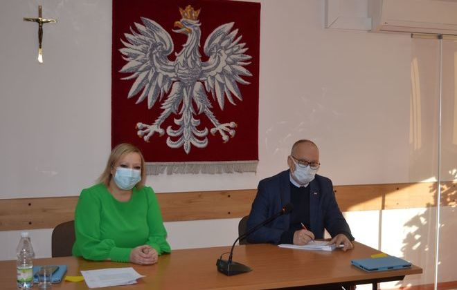 Powiat rycki wykonuje kolejną po termomodernizacji ważną inwestycje w Domu Pomocy Społecznej w Leopoldowie