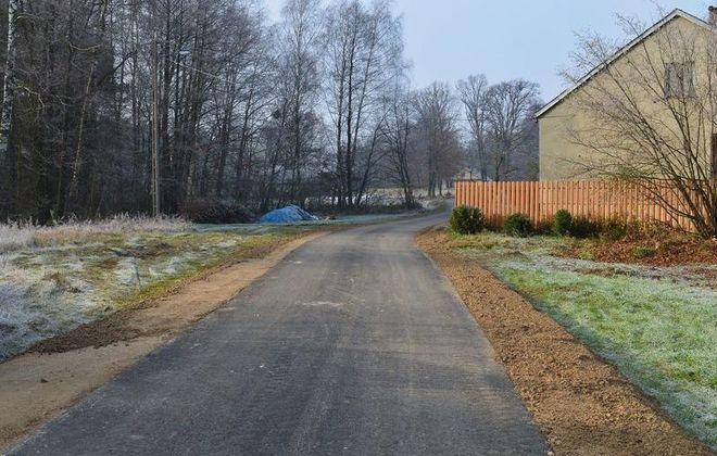 Modernizacja drogi w miejscowości Wygranka zakończona
