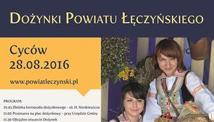 Dożynki Powiatu Łęczyńskiego 2016