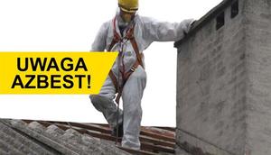 Usuwanie wyrobów zawierających azbest - informacja o umowie