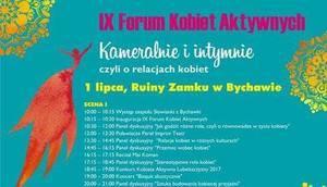 zaproszenie na IX Forum Kobiet Aktywnych