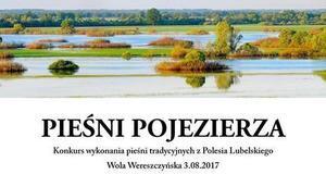 """Konkurs śpiewaczy """"Pieśni Pojezierza"""""""