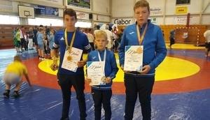 Trzy medale na Słowacji